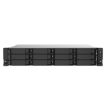 QNAP TS-1273AU-RP-8G V1500B Ethernet LAN Rack (2U) Black, Grey NAS