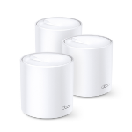 TP-LINK DECO X20 (3-PACK) wireless router Gigabit Ethernet Dual-band (2.4 GHz / 5 GHz) White