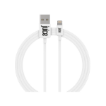 Juice JUI-CABLE-LIGHT-1M-RND-WHT lightning cable White