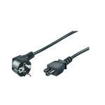 Microconnect PE010830 3m CEE7/7 C5 coupler Black power cable