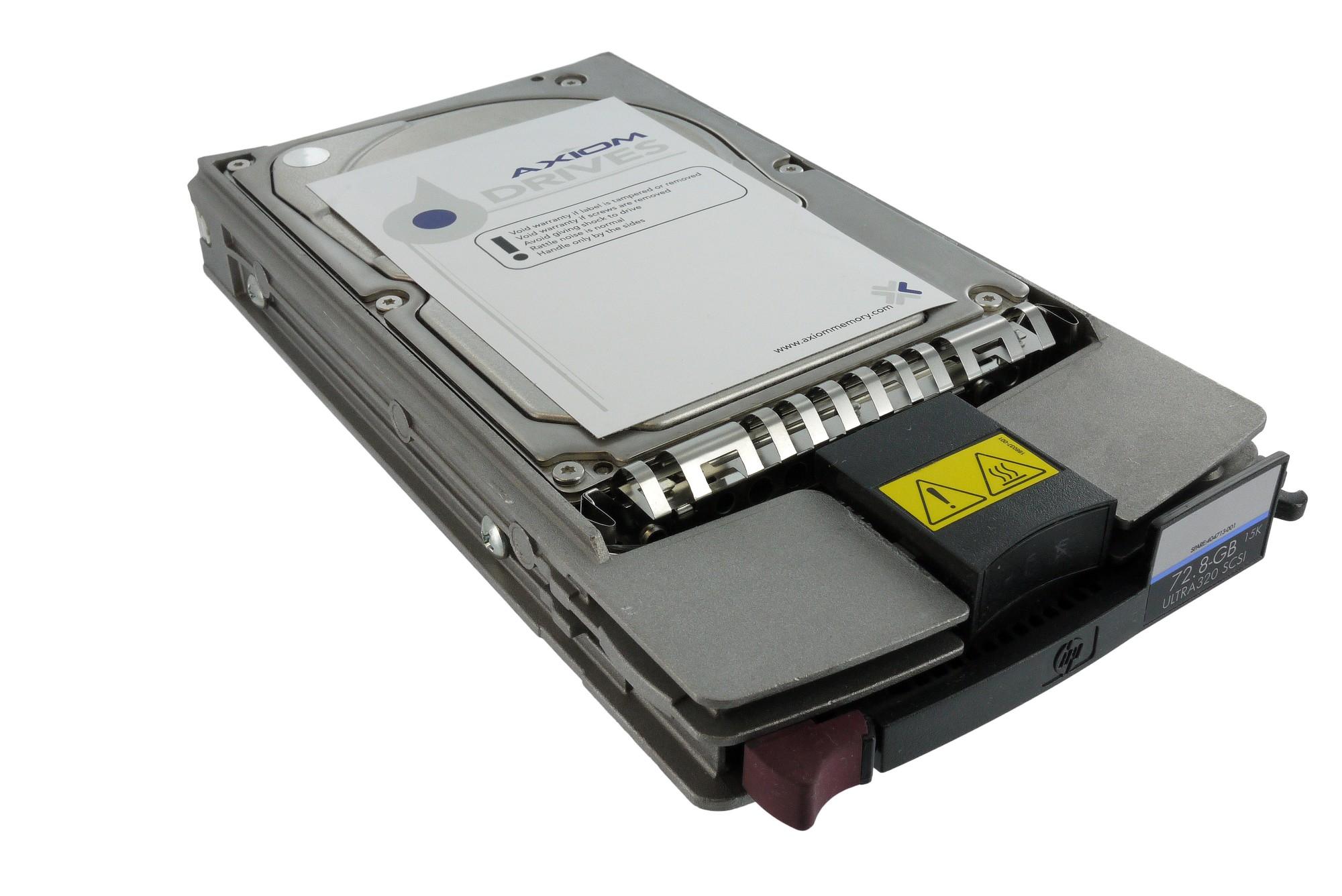 "HP 36.4GB 10k Ultra320 SCSI hot-plug hard drive 3.5"""