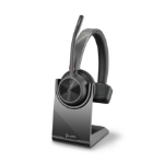POLY Voyager 4310 UC Headset Head-band USB Type-A Bluetooth Charging stand Black