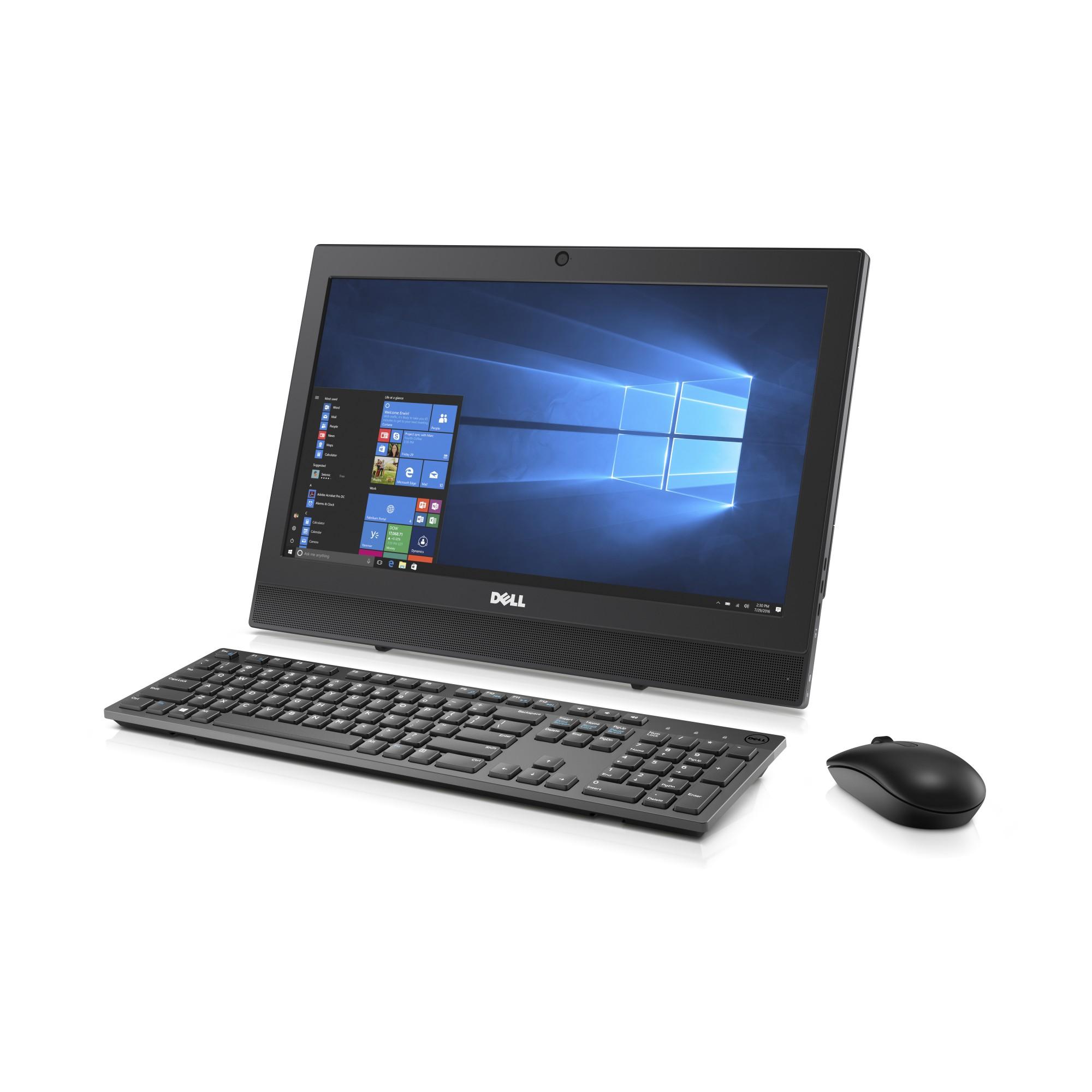 """DELL OptiPlex 3050 2.70GHz i5-7500T 19.5"""" 1600 x 900pixels Black All-in-One PC"""
