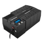 CyberPower BRICs LCD 1000VA 6AC outlet(s) Compact Black uninterruptible power supply (UPS)