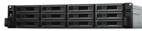 Synology RX1217sas disk array 48 TB Rack (2U) Black,Grey