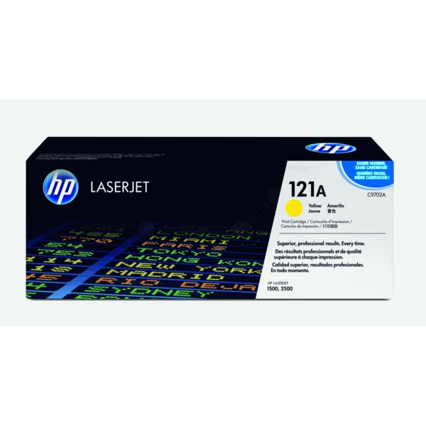 HP C9702A (121A) Toner yellow, 4K pages