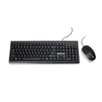 iogear GKM513B keyboard USB QWERTY US English Black