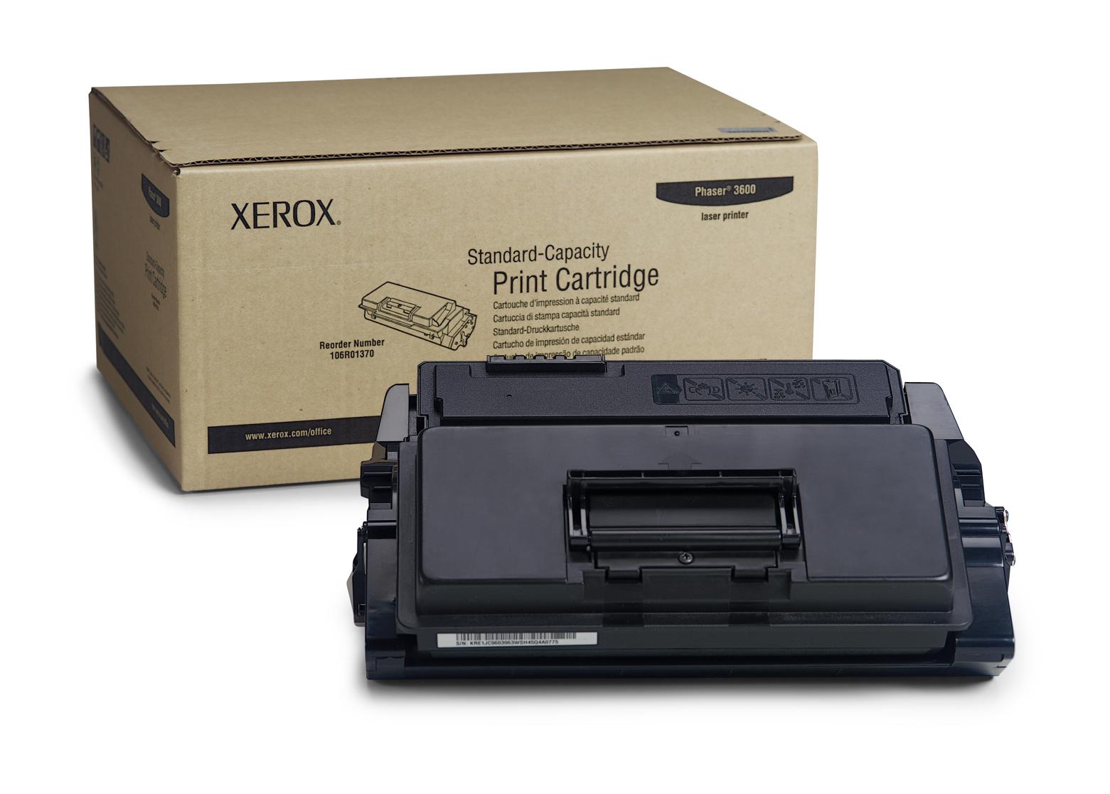 Xerox Cartucho de impresión Phaser 3600 de capacidad normal (7000 págs.)