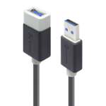New Alogic 1m USB 3.0 Extension Cable Type A Male To Type A Female