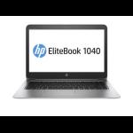 "HP EliteBook Folio 1040 G3 2.5GHz i7-6500U 14"" 1920 x 1080pixels 3G 4G Silver Notebook"