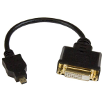StarTech.com Micro HDMI to DVI-D adapter M/F - 8in