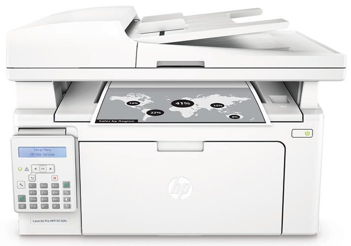 HP LaserJet Pro MFP M130fn Laser A4 White