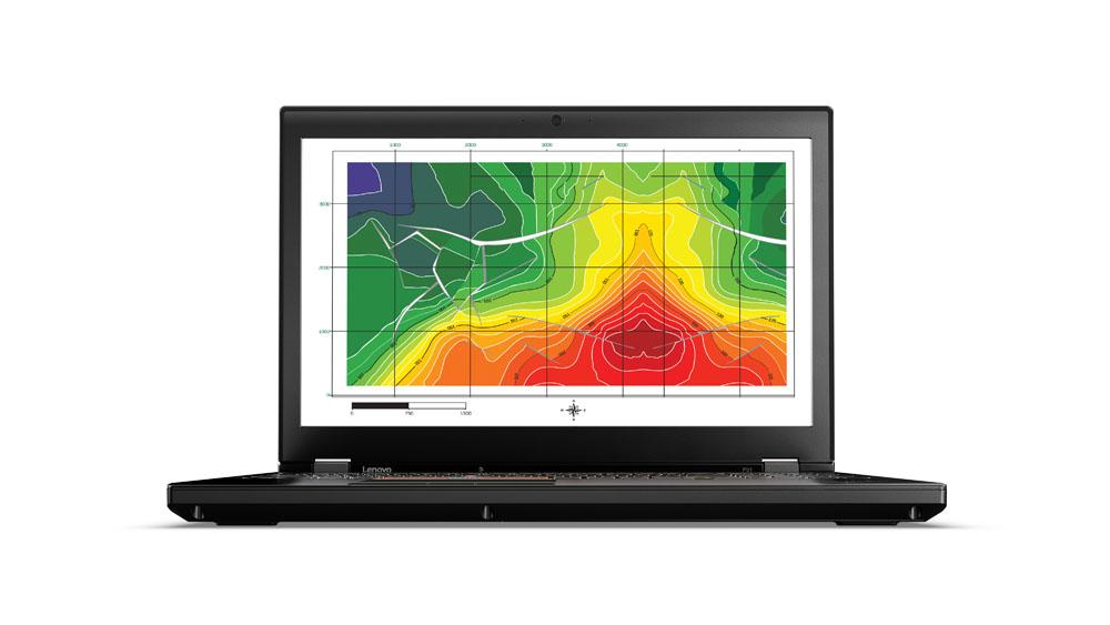 "Lenovo ThinkPad P51 2.8GHz i7-7700HQ 15.6"" 1920 x 1080pixels Black Mobile workstation"