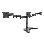 V7 Triple Swivel Desk Stand Mount