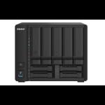 QNAP TS-932PX Ethernet LAN Tower Black NAS TS-932PX-4G/70TB-EXOS