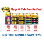 3M FLAG & TAB DEAL POST-IT BUNDLE ( EACH )