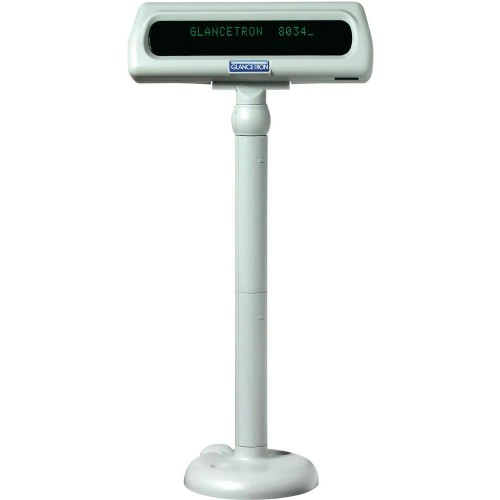 Glancetron DISP8034U 20 digits USB 2.0 White