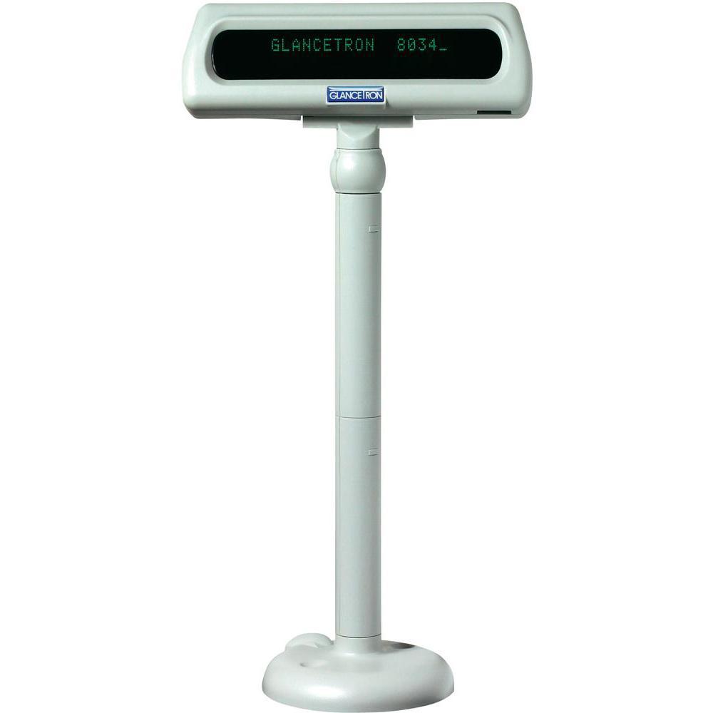 Glancetron DISP8034U 20 digits White USB 2.0