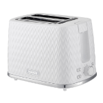 Zanussi ZST-6550-WT toaster 2 slice(s) 930 W White