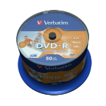 Verbatim 43533 blank DVD 4.7 GB DVD-R 50 pc(s)