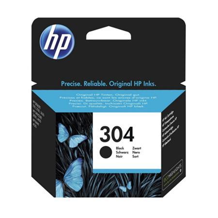 HP N9K06AE (304) Ink cartridge black, 100 pages @ 5% coverage, 4ml