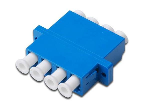 Digitus DN-96012-1 fibre optic adapter LC Blue