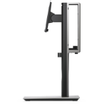 "DELL MFS18 flat panel desk mount 68.6 cm (27"") Freestanding Black,Silver"