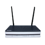 Billion BIPAC 7820NZ Single-band (2.4 GHz) Fast Ethernet Black,Silver wireless router