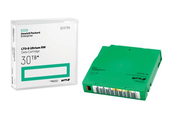 Hewlett Packard Enterprise LTO-8 Ultrium 30TB RW Data Cartridge 12000GB LTO