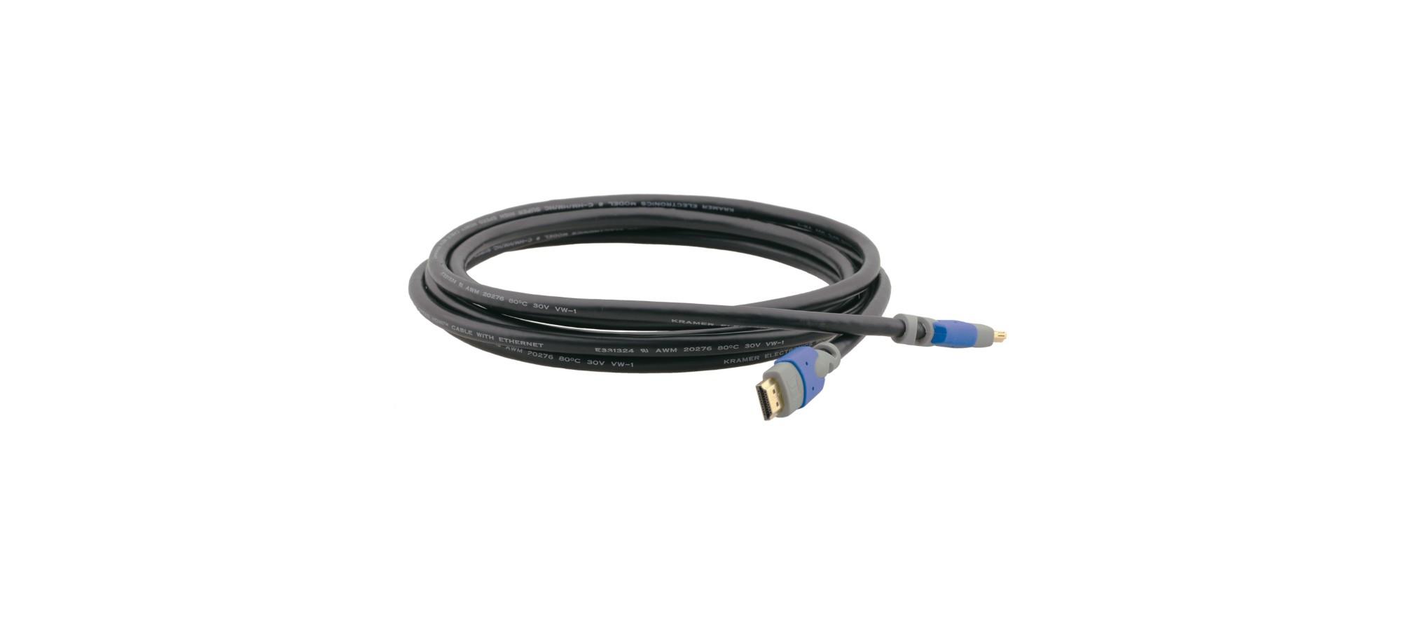 Kramer Electronics C-HM/HM/PRO-3 cable HDMI 0,9 m HDMI tipo A (Estándar) Negro