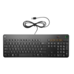 HP K8P74AA keyboard USB Black