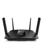 Linksys EA8500 wireless router Dual-band (2.4 GHz / 5 GHz) Gigabit Ethernet Black