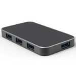 Digitus USB 3.0 HUB 4-Port USB 3.0 (3.1 Gen 1) Type-A 5000Mbit/s Black interface hub