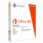 Microsoft Office 365 Personal, 1 Year Subscription, 1 Devices, 32bit/64bit, Medialess, PC & Mac
