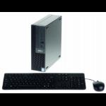 Axis S9002 Mk ll Intel® 8de generatie Core™ i5 i5-8400 8 GB 128 GB SSD Mini PC Zwart Windows 10 Enterprise