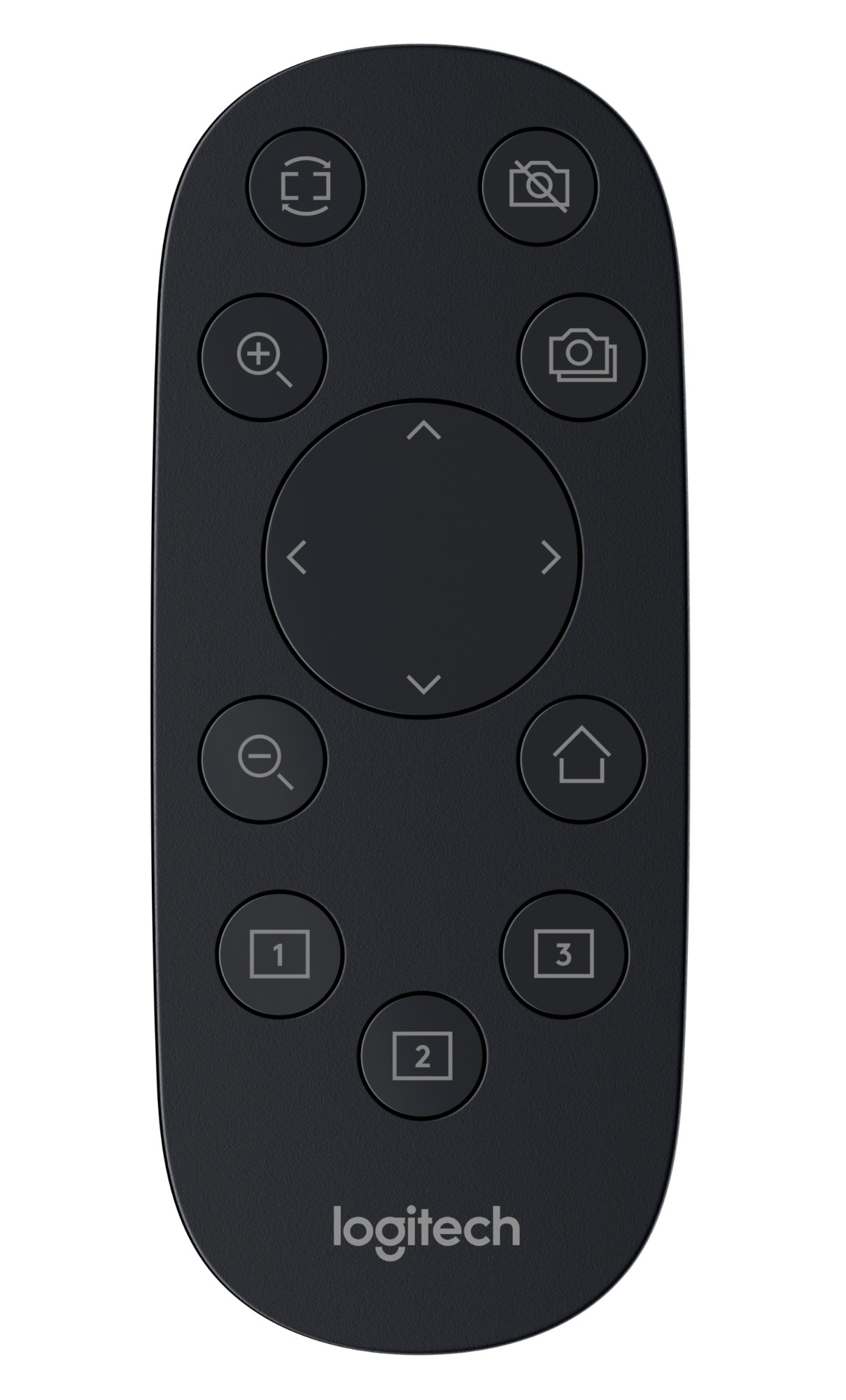 Logitech 993-001465 remote control RF Wireless Black Press buttons