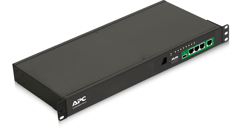 APC EPDU1016S unidad de distribución de energía (PDU) 1U Negro 8 salidas AC