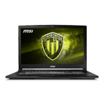 "MSI Workstation WE73 8SJ-285 Mobile workstation Black 43.9 cm (17.3"") 1920 x 1080 pixels 8th gen Intel® Core™ i7 16 GB DDR4-SDRAM 1256 GB HDD+SSD NVIDIA® Quadro® P2000 Wi-Fi 5 (802.11ac) Windows 10 Pro"