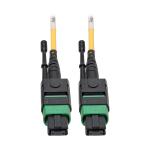 "Tripp Lite N390-01M-12-AP fiber optic cable 39.4"" (1 m) MPO/MTP Yellow"