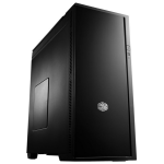 Cooler Master USP Silencio 652S Midi-Tower Black computer case