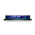 Verbatim DVD-RW 8cm Inkjet Printable 1.4GB DVD-RW 10pc(s)
