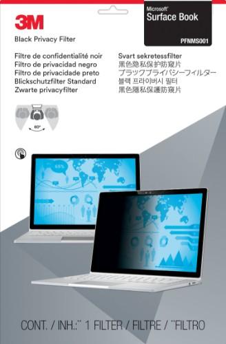 "3M PFNMS001 Frameless display privacy filter 34.3 cm (13.5"")"