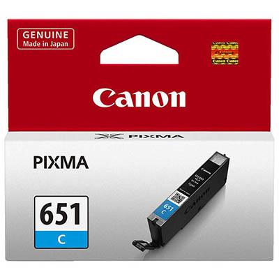 CANON CLI651C INKJET CARTRIDGE CYAN