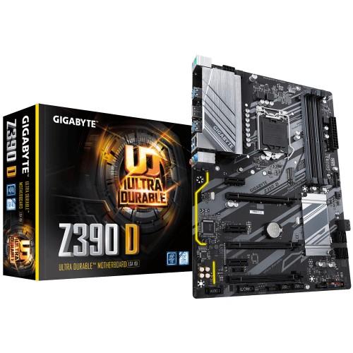 Gigabyte Z390 D motherboard Intel Z390 Express LGA 1151 (Socket H4) ATX
