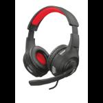 Trust GXT 307 RAVU Binaural Head-band Black,Red