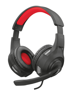 Gaming Headset Gxt 307 Ravu Over Ear Black / Red