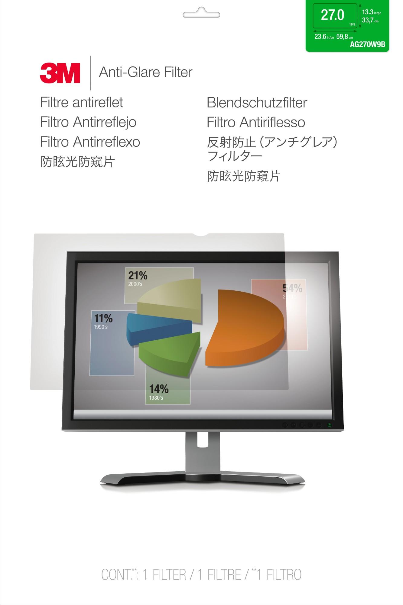 3M AG270W9B Screen protector