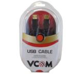 VCOM CU203GB USB cable 3 m USB 2.0 USB A Black