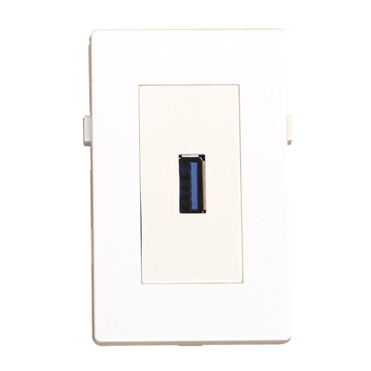 GARBOT USB3.0 MODULE. F/F. 20 CM. WHITE