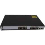 Cisco Catalyst WS-C3750-24PS-E network switch Managed